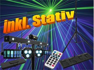 Eurolite Set LED KLS Laser Bar FX + Stativ 210cm Höhe