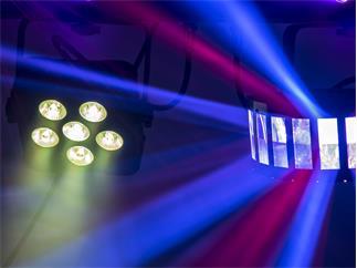 Eurolite LED KLS Laser Bar PRO FX-Lichtset + Stativ 210cm Höhe