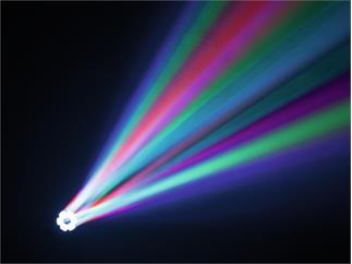 Eurolite LED TMH FE-600 Beam/Flowereffekt 6 x 12W RGBW