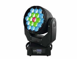 Eurolite Set 2x LED TMH-X5 Moving-Head Wash Zoom 19 x 12W RGBW + CASE