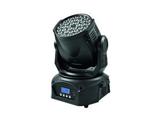 EUROLITE LED TMH-40 Moving-Head Wash, 36 x 3-W-TCL (Tricolor LED) mit RGB-Farbe