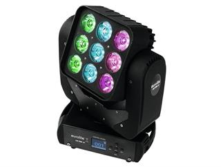 Eurolite LED TMH-18 Moving-Head Beam 9 x 15W RGBW - DEMO