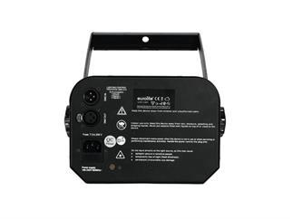 Eurolite LED TSL-1200 Scan - 120W LED-Scanner mit rotierenden Gobos