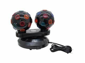 EUROLITE Mini double ball m.2x230V/15W DR