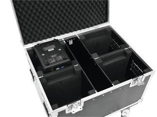 Roadinger Transportcase für 4x EYE-7 RGBW mit Rollen