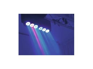 Futurelight Color Mega Wave Infinity LED-Moving-Leiste 6x 40W RGBW LEDs