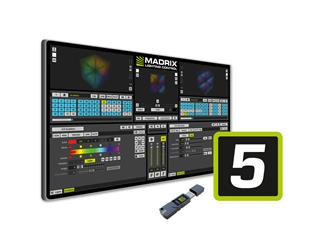 MADRIX 5 Key ENTRY - Software mit 8x DMX512