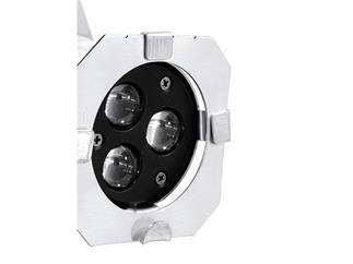 EUROLITE LED PAR-16 3200K 3x3W Spot silber