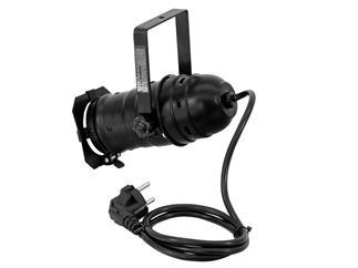 EUROLITE LED PAR-16 3200K 3x3W Spot schwarz
