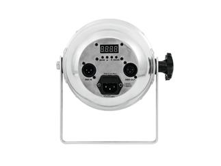 EUROLITE LED PAR-56 HCL Short silber Short-Spot mit 10-W-HCL-LEDs (6in1 LEDs)