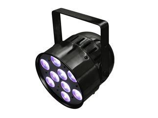 EUROLITE LED PAR-56 HCL Short schwarz Short-Spot mit 10-W-HCL-LEDs (6in1 LEDs)