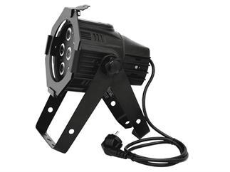 EUROLITE LED ML-30 QCL 7x8W RGBW schwarz