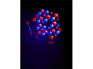 EUROLITE LED MLZ-56 RGB 36x3W silber, Zoom von 10°-60°