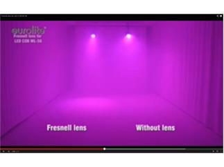 EUROLITE Fresnel-Linse für LED COB ML-56, sw