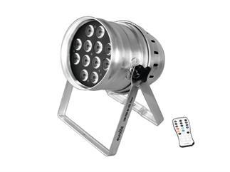 Eurolite LED PAR-64 HCL 12x10W Floor silber RGBAWUV - GEBRAUCHT