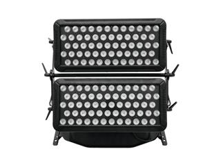 Eurolite LED IP CCR-1200 QCL Wall Light inkl. Flightcase 120 x 8W RGBW LED IP65