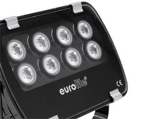 Eurolite LED IP FL-8 grün 30°