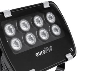 Eurolite LED IP FL-8 blau 30°