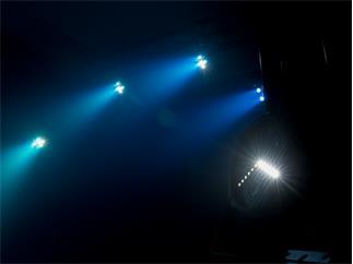 Eurolite LED SLS-3 Hybrid Floor - 3 x 4W RBGUV + Strobe