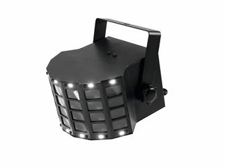 EUROLITE LED Mini D-6 Hybrid Strahleneffekt mit Derby und Strobe