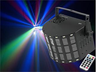 EUROLITE LED Mini D-20 Hybrid Strahleneffekt, mit DMX und Fernbedienung
