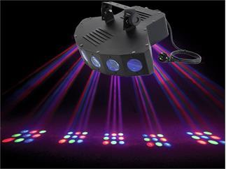 EUROLITE LED SCY-7 RGB Strahleneffekt mit 63 LEDs