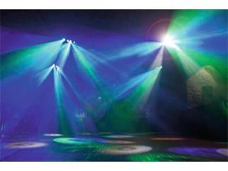 Eurolite LED SCY-400 Strahleneffekt 20x3W RGBAW LEDs B-STOCK