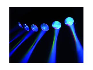 Eurolite LED SCY-200 Strahleneffekt, 6x 3W TCL, DMX-fähig