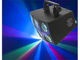 Eurolite LED SCY-300D Strahleneffekt 18 x 3W RGB LED