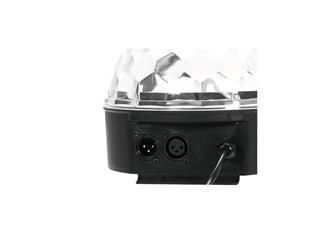 eurolite LED BC-6 Strahleneffekt mit DMX, Spiegelkugeleffekt, 6x 1Watt RRGBAW