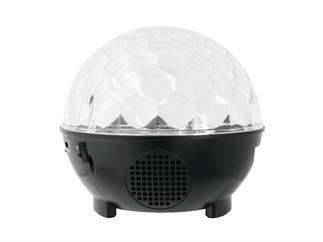 Eurolite AKKU LED BC-9 Strahleneffekt MP3 - Spiegelkugeleffekte