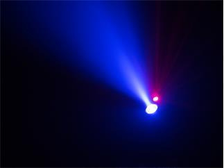 Eurolite LightBeat 1 Bluetooth-Lautsprecher mit Lasereffekt
