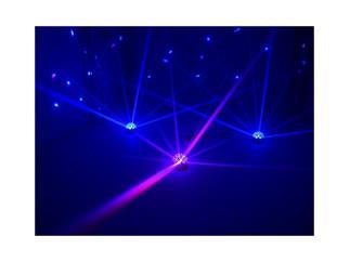 EUROLITE LED B-10 schwarz 1x3W FC Fading Colors Spiegelkugeleffekt