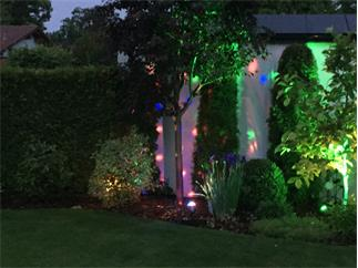 EUROLITE LED IP BCO-1 Strahleneffekt RGB, Gartenflower