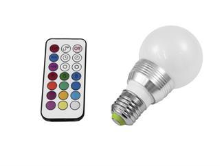 Omnilux LED A60 230V 5W E27 multicolor inkl. Fernbedienung
