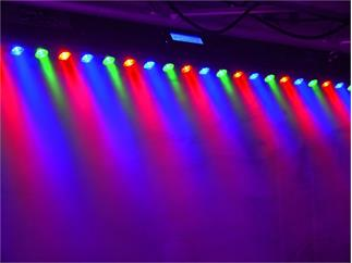 EUROLITE LED Bar 2 RGB 27/1 schwarz 27x 1W LEDs