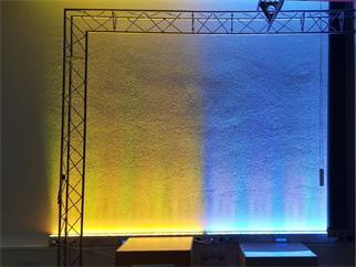 EUROLITE LED BAR-252 RGBA 10mm 40° weiß, 4 Zonen