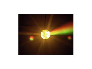 EUROLITE LED Twinkle Ball TC Rotierende 20-cm-RGB-Kugel