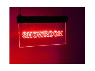 "EUROLITE LED Sign ""Showroom"" RGB"