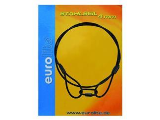 Stahlseil 900x3mm schwarz