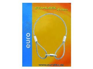 Stahlseil 400x4mm silber