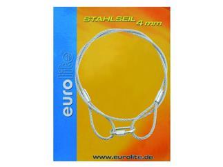 Stahlseil 900x4mm silber