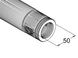 ALUTRUSS SINGLELOCK SP-S2500 QUICK-LOCK Rohr sw