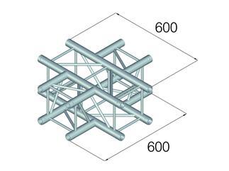 Alutruss QUADLOCK GL400-C41 4 Wege Kreuzung