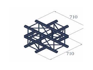 QUADLOCK 6082C-41 4-Wege-Kreuzstück