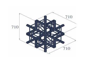 QUADLOCK 6082C-61 6-Wege-Kreuzstück