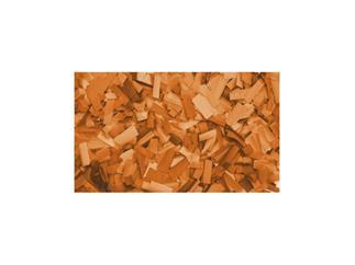 Showtec Show Konfetti Orange (rechteckig), 1 kg (schwer entflammbar) 55x17mm