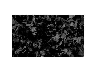 Showtec Show Confetti Metal, rechteckig, schwarz, slowfall