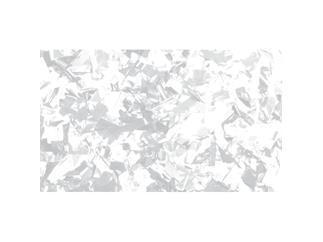 Showtec Show Confetti Metal, rechteckig, weiss, slowfall