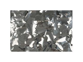 Showtec Show Confetti Metal, Sterne, silber
